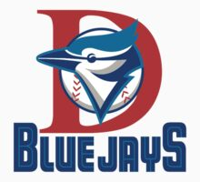 Dunedin Blue Jays baseball logos T-Shirts ,Stickers by boomer321sasha