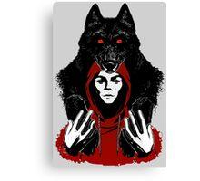 lil' red ridin' hood Canvas Print