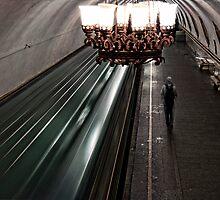 Moscow Metro by Fabio Bandera