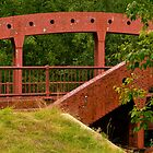 IRON BRIDGE ON DEERFIELD RIVER by Thomas Barker-Detwiler