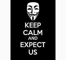 Anonymous face Unisex T-Shirt