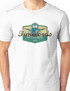 TIMELORDS TIME TRAVEL AGENCY Unisex T-Shirt