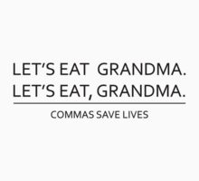 Commas save lives by squidyes