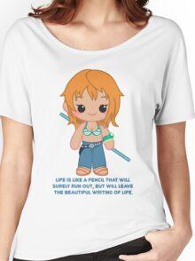 Cute Nami Women's Relaxed Fit T-Shirt