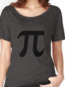 Pi Flavour Blue Women's Relaxed Fit T-Shirt