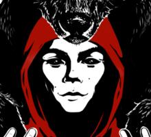 lil' red ridin' hood Sticker