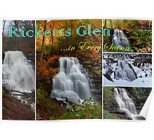 Ricketts Glen ...in Every Season - Calendar Cover Poster