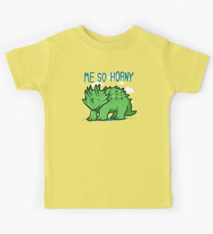 Me so horny Kids Clothes