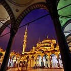 The Blue Mosque by Hercules Milas