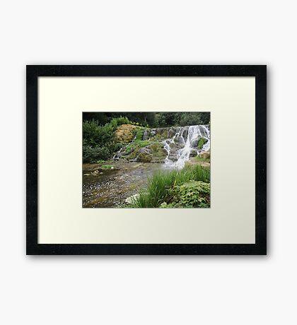Blenheim Cascade Framed Print