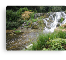 Blenheim Cascade Canvas Print