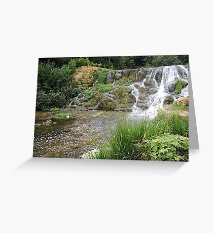 Blenheim Cascade Greeting Card