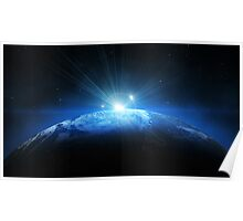 Earth Halo Poster