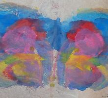 Pastel Ice Cream Butterfly by Inner Child Art