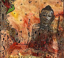 Ink Buddha by marbrure