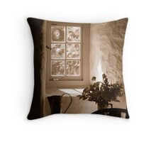 Old Post Office, Tintagel Throw Pillow