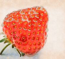 Ripe strawberry by sc-images
