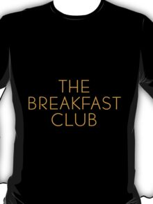 The Breakfast Club - Title T-Shirt