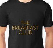 The Breakfast Club - Title Unisex T-Shirt