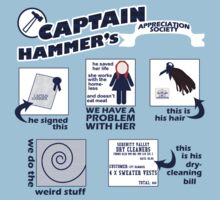 Captain Hammer's Appreciation Society by geekyness