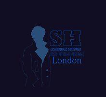 Sherlock Holmes by CiderMan