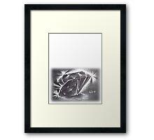 Diamonds Framed Print