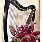 Harp and Lilies by Beth Stockdell