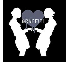 Graffiti Love Photographic Print