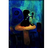 Blue Fairy After Dark Photographic Print