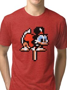 DuckTales Scrooge McDuck Pogoing Tri-blend T-Shirt