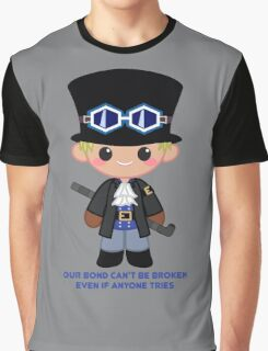 Cute Sabo Graphic T-Shirt