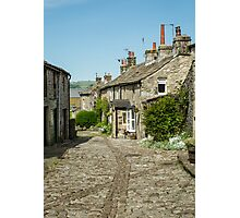 Cobbled street Photographic Print