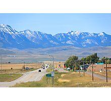 Alberta Mountains Photographic Print