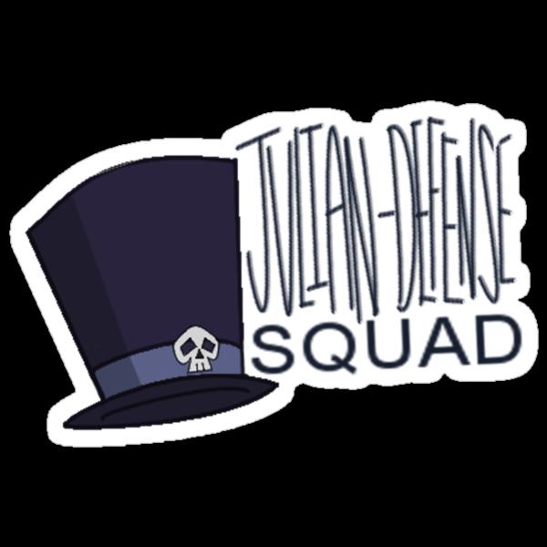 Julian Defense Squad by ChairAnatomy