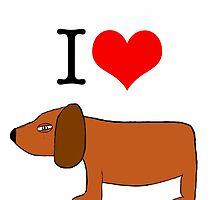 I love Sneaky Dog by VinylVendetta