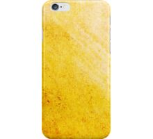 Abstract Yellow iPhone Case Cool Retro New Grunge Texture iPhone Case/Skin