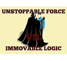 Force Choke Vs Death Grip Photographic Print