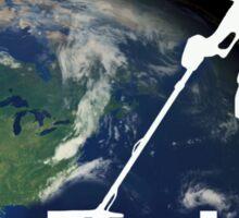 I Dig the Earth - Metal detecting, treasure hunters T-Shirt Sticker