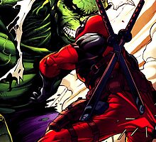 Deadpool V.S. Hulk 2 by Bespoke