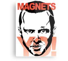 magnets yo! Metal Print