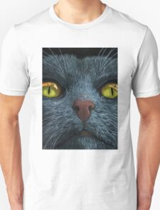 Cat Visions - black cat fun T-Shirt