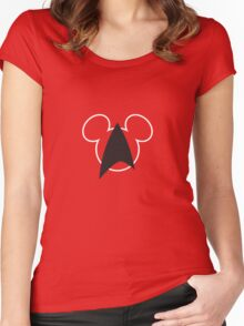 Mouse Trek Women's Fitted Scoop T-Shirt