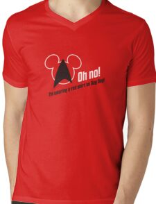 Oh no! I'm Wearing a Red Shirt on Gay Day! Mens V-Neck T-Shirt