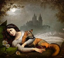 dreaming in the woods by ChristianSchloe
