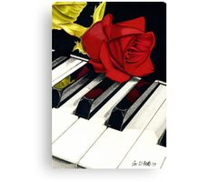 Beautiful Music Canvas Print