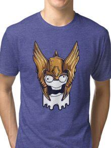 Crazy Warrior Tri-blend T-Shirt