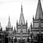 LDS Salt Lake Temple by Shane Moss