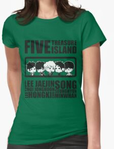 FTISLAND Chibi 2 Womens Fitted T-Shirt
