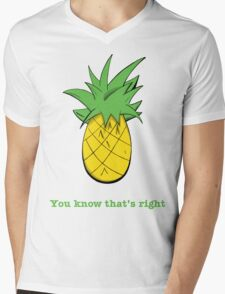 You Know That's Right Mens V-Neck T-Shirt