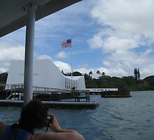 "USS Arizona Memorial, Pearl Harbor, Oahu by Edmond J. [""Skip""] O'Neill"